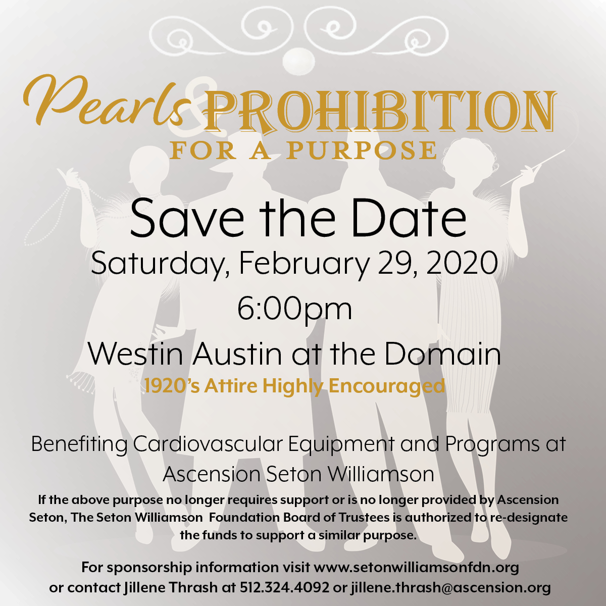 Pearls & Prohibition For A Purpose