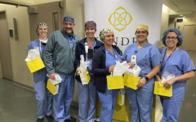 Kendra Scott Teams Up To 'Surprise & Delight' Ascension Seton Medical Center Austin Surgical Services Team